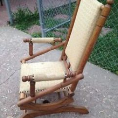 1920s Rocking Chair Pub Height Kitchen Table And Chairs Dexter 1838 1920 Ebay Image Is Loading 034