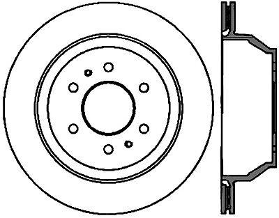 High Carbon Alloy Brake Disc fits 2005-2005 Saab 9-7x