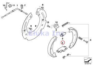BMW Genuine Brake Service Parking Brake Actuator