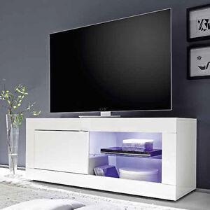 Mobile base porta tv moderno Basic piccolo 140 sala soggiorno salotto 1 anta  eBay