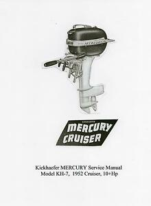 Mercury 10Hp, KH-7 'Cruiser' Vintage Outboard Service