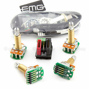 emg wiring diagram tele thermistor relay solderless great installation of new conversion kit for 1 2 pickups hz passive rh ebay com 3