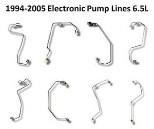 GM 6.5 L Diesel Fuel Injection lines 1994-2005 Electronic