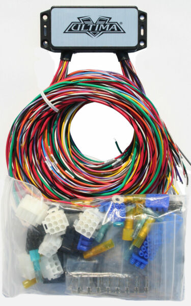 Ultima Plus Compact Electronic Wiring Harness Kit Bobber