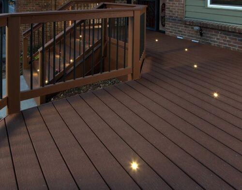 garden lighting equipment dekdots de kor dek dots recessed lighting 4 pack outdoor lights deck dekor outdoor garden wall lights