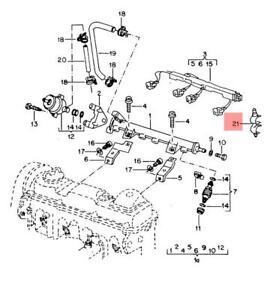 Genuine Retainer For Fuel Line VW Golf R32 GTI Rabbit