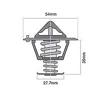 TRIDON THERMOSTAT FOR FORD Diesel Engines L4-2.2L Ranger