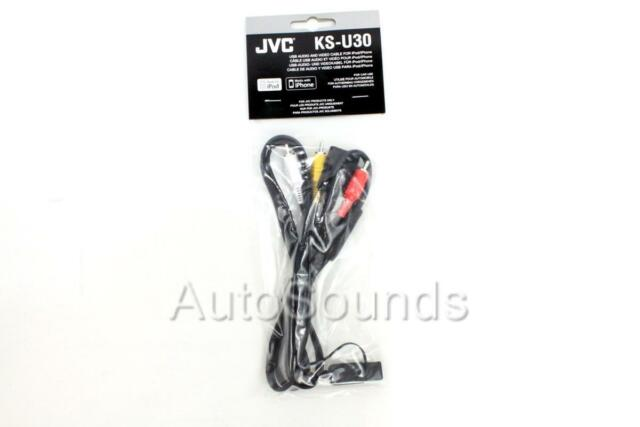 JVC KS U30 iPod Connector Cable Lead in Car Audio for sale