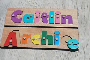 personalised name puzzle with