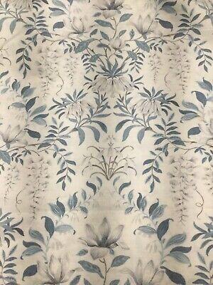laura ashley parterre off white seaspray curtain fabric material x 5m ebay