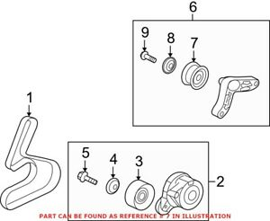 Genuine OEM Accessory Drive Belt Idler Pulley for Acura