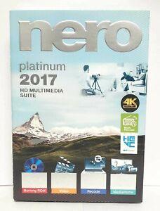Nero 2017 Platinum Full : platinum, Platinum, Multimedia, Suite, Windows, Version, 888262000682