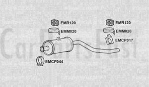 EXHAUST FRONT SILENCER BOX Mercedes Benz 207d 2.4 Diesel