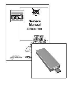 Bobcat 553 Skid Steer Loader Workshop Service Repair