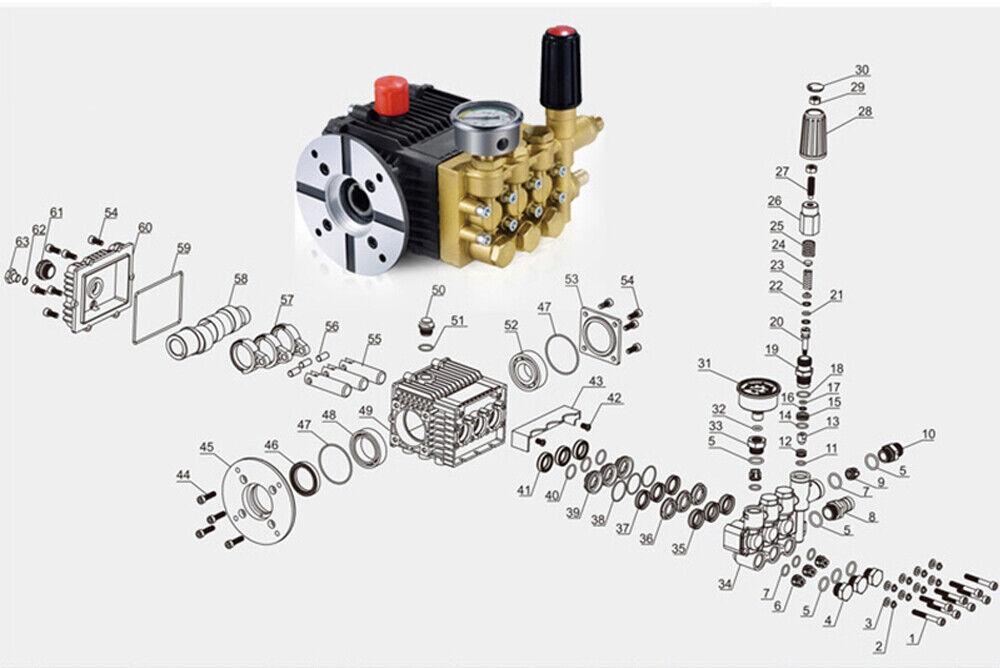 Online-Verkaufsrabatt 220V Copper Electric High Pressure