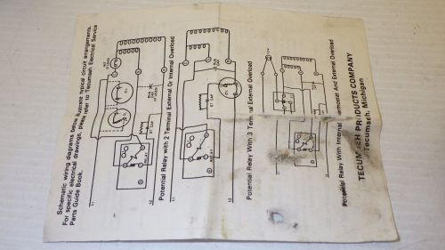 small resolution of 3 4 hp tecumseh compressor wiring diagram