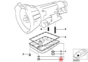 Genuine Transmission Screw Plug x5 pcs BMW E34 E36 E39