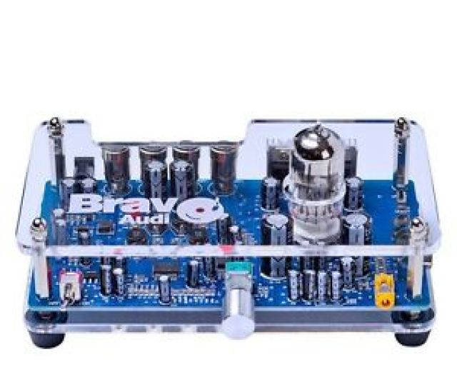 Image Is Loading Bravo Audio Sp1 12au7 Class A Tube Stereo