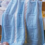 Chunky Wool Boat Nautical Baby Blanket Cable Panel 36 X 44 Knitting Pattern 5392541874123 Ebay