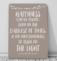 Happiness can be found - Harry Potter quote metal sign ...