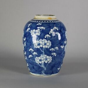 Chinese blue and white ginger jar, 18th/19th century