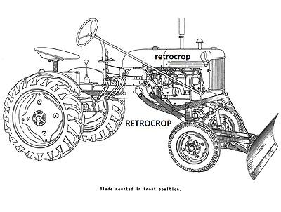 IH Early Model McCormick-Deering Grader & Leveling Farmall