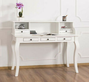 Schreibtisch Landhaus Weiß 2021
