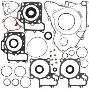 Complete Gasket Kit with Oil Seals For Kawasaki KFX 700 V