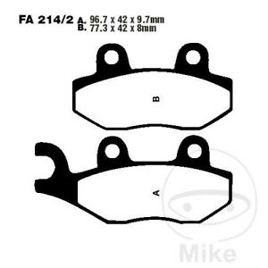 EBC HH Sintered Rear Brake Pads FA214/2HH Triumph Daytona