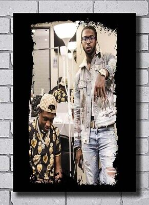 24x36 27x40 pop smoke lil tjay forever music rapper silk poster art 5622 ebay