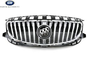 14-17 Buick Regal Front Grille 22974463 Silver & Bright