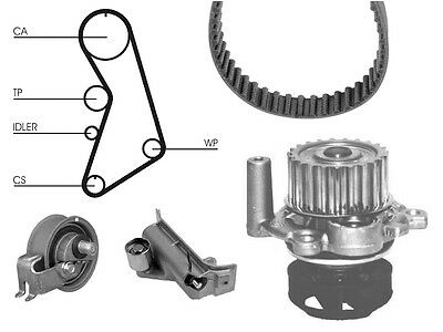 Water Pump And Timing Cam Belt Kit For Seat Leon 1.8 T