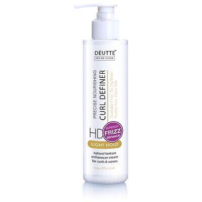 Deutte Curls Definer Cream Curl Activator For Natural Wavy And