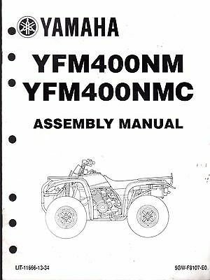 2000 YAMAHA ATV 4 WHEELER YFM400NM & YFM400NMC ASSEMBLY