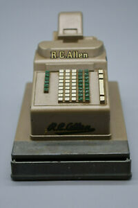 Rc Allen Cash Register : allen, register, Allen, Register, Salesman, Sample/Toy, Tall,, Long,