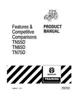 NEW HOLLAND TN55D, TN65D, TN75D PRODUCT MANUAL OPERATOR`S