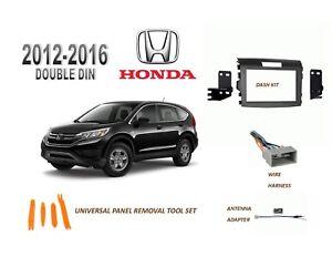NEW 2012-2016 HONDA CR-V Car Stereo Double DIN Dash Kit