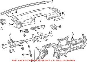 Genuine OEM Instrument Panel Wiring Harness for Toyota
