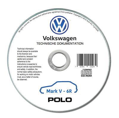 Volkswagen Polo (2010-2018) Workshop Manual Repairing On