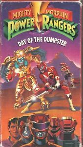 Power Rangers Day : power, rangers, Movie, MIGHTY, MORPHIN, POWER, RANGERS, DUMPSTER, Pre-owned, Saban