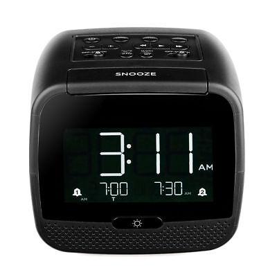 Tivdio Digital Alarm Clock Radio Lcd