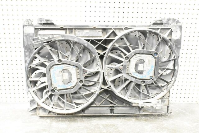 2004 2005 2006 2007 D3 Audi A8 4.2 Radiator Cooling Fan