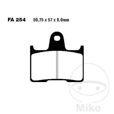 EBC HH Sintered Superbike Rear Brake Pads FA254HH Suzuki