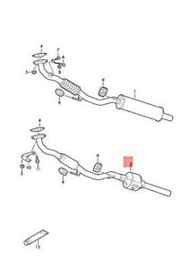 Genuine SEAT SKODA VW Ibiza ST Fabia Roomster Polo Exhaust
