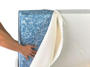 Image Is Loading Coolmax Memory Foam Mattress Topper Cover Zipped