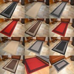 Kitchen Floor Rugs Replacement Cabinet Doors Non Slip Rubber Backing Long Narrow Hall Carpet Image Is Loading