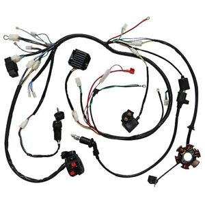 WIRING HARNESS GY6 150CC 125CC ELECTRICS BUGGY SCOOTER