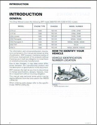 2009-2010 Ski-Do REV XR 1200 4-TEC (GSX, GTX, MXZ