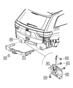 Genuine Tow Hitch Receiver Receiver Plug Jeep Logo