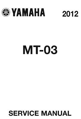 2006-2014 MT-03 660cc YAMAHA REPAIR SERVICE WORKSHOP